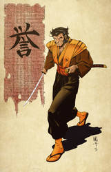 Samurai Logan by statman71
