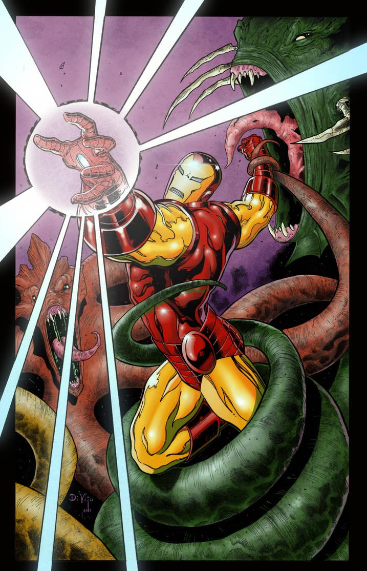 Iron Man Under Siege by statman71