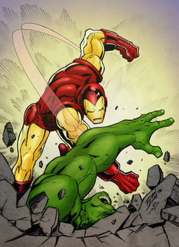 Iron Man SMASH!