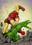 Iron Man SMASH!