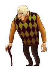 Horror Movies (The Creepy Old Man)