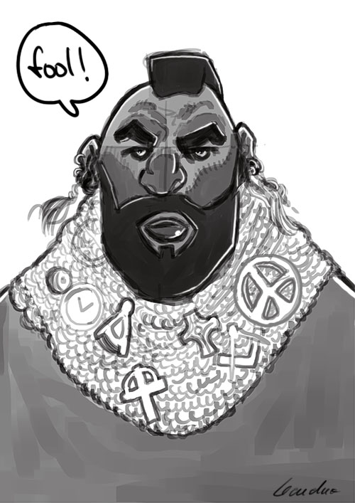 Mister T by Leandro-Damasceno