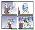 [4koma] freezing slimegirl