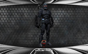Cavalry Armored Exoskeleton by ParallaxAlteration