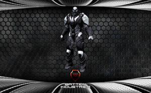 Hammer-E Combat Armor by ParallaxAlteration