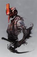 Robotic Ninja by cobaltplasma