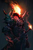 Black Knight II by cobaltplasma