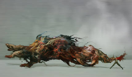Shima Tetsuo : Akira by cobaltplasma