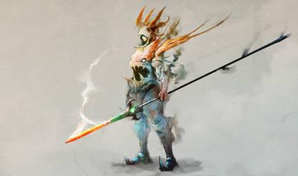Dragoon Spiritblade by cobaltplasma