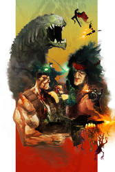 Broforce : Everything You Want, Nothing You Don't by cobaltplasma