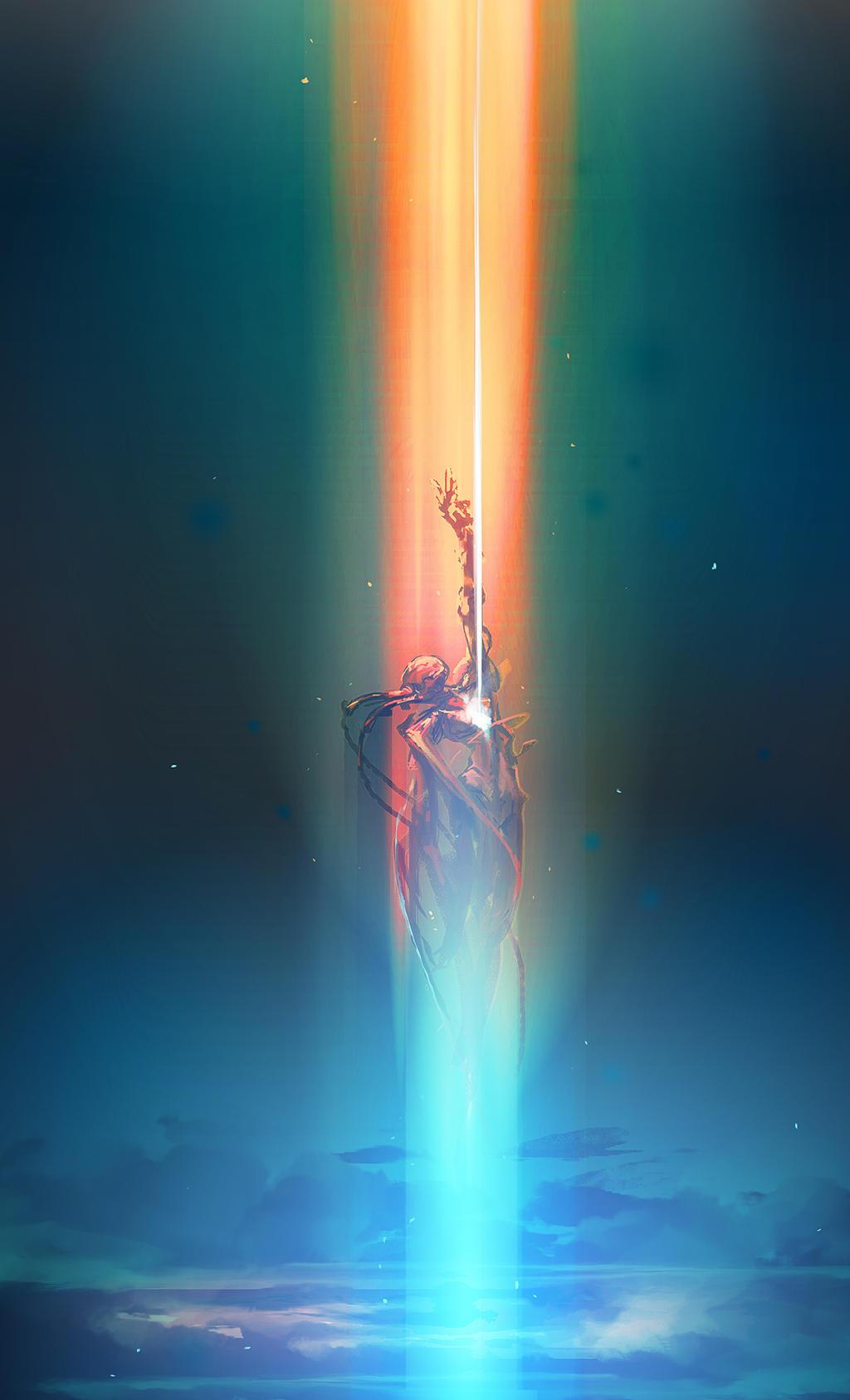 Reincarnation, spitpaint by cobaltplasma