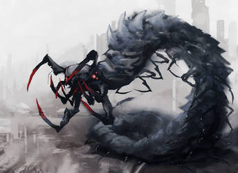 Centipede by cobaltplasma