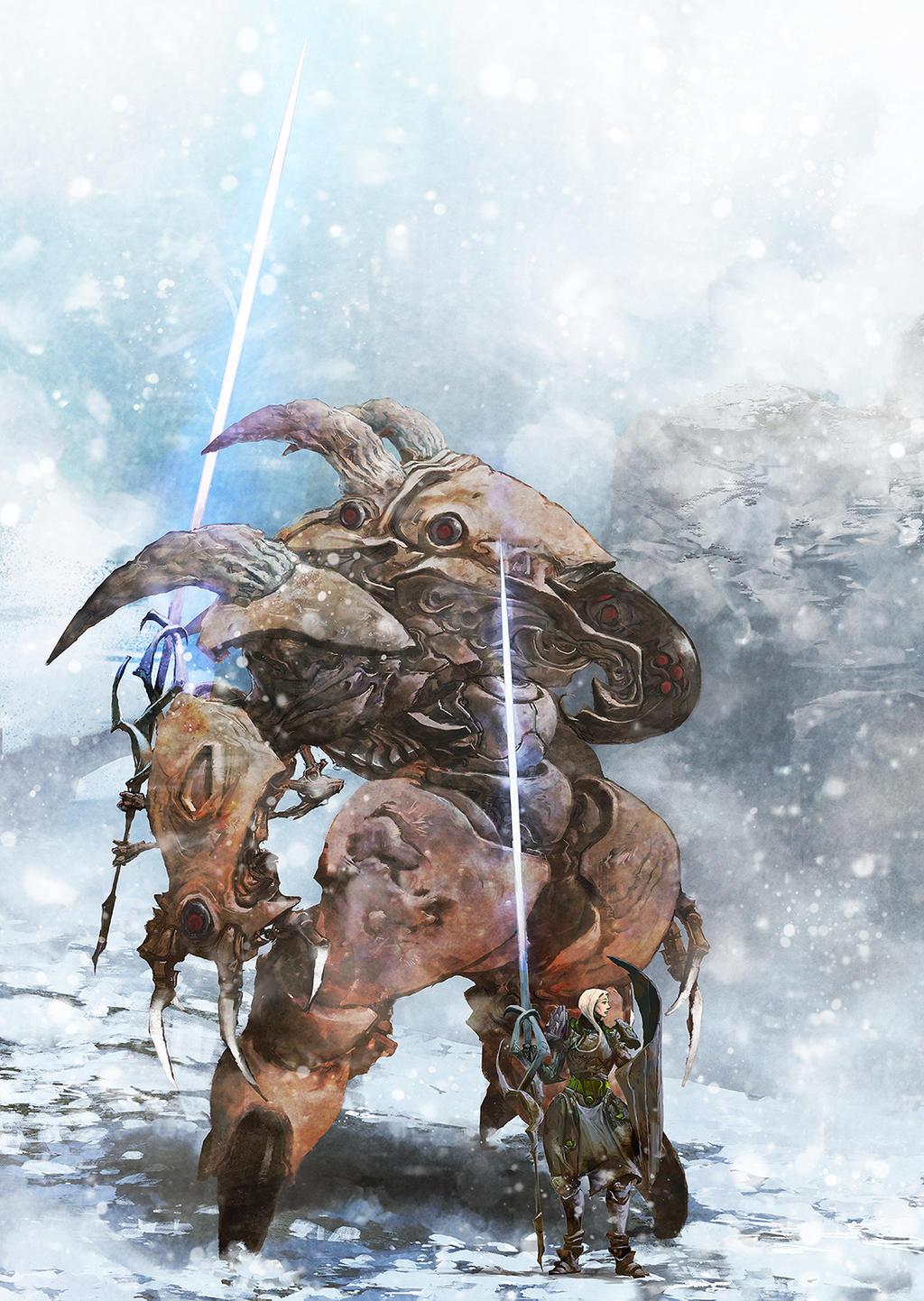 Siege Suit and Engineer by cobaltplasma