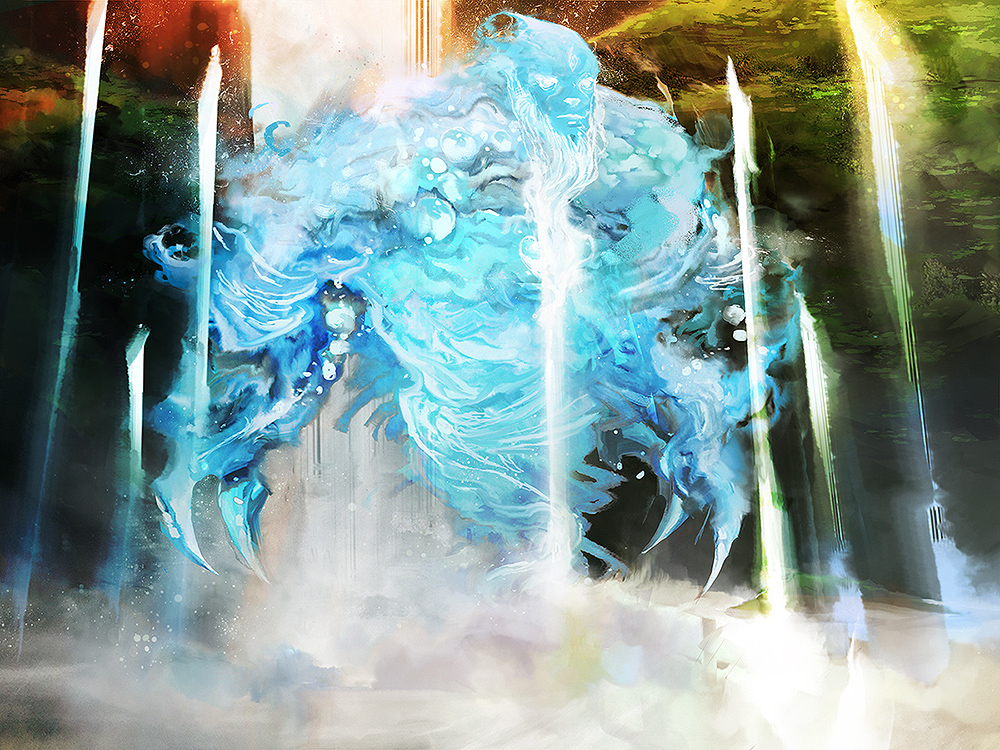 Water Elemental // Ascension : Gift of the Element by cobaltplasma
