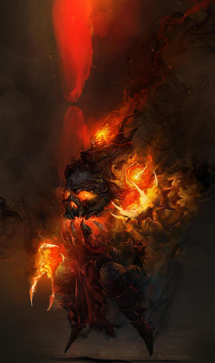 Sothoss, Shadow King by cobaltplasma