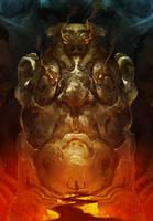 Idol Temple by cobaltplasma