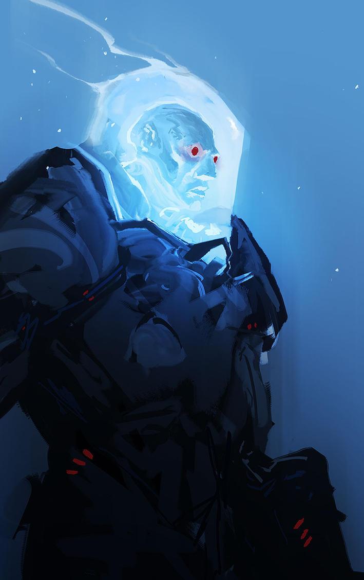 Mr. Freeze - Sketch 07.10.18 by cobaltplasma