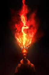 Burning Crown by cobaltplasma