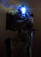 Robot Knight by cobaltplasma