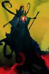 The Evil Queen  (30min. spitpaint)