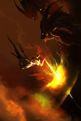 Glowing Hot, Fantasy Edition (30min spitpaint)