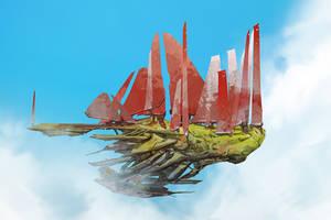 Red Sails (30min. spitpaint)