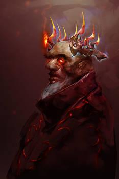 Devil's Crown (30min. spitpaint)