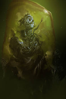 Creating A Mutant (30min. spitpaint)