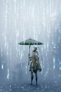 Electronic Rain (30min. spitpaint)