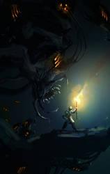 Walk In The Dark (30min. spitpaint)