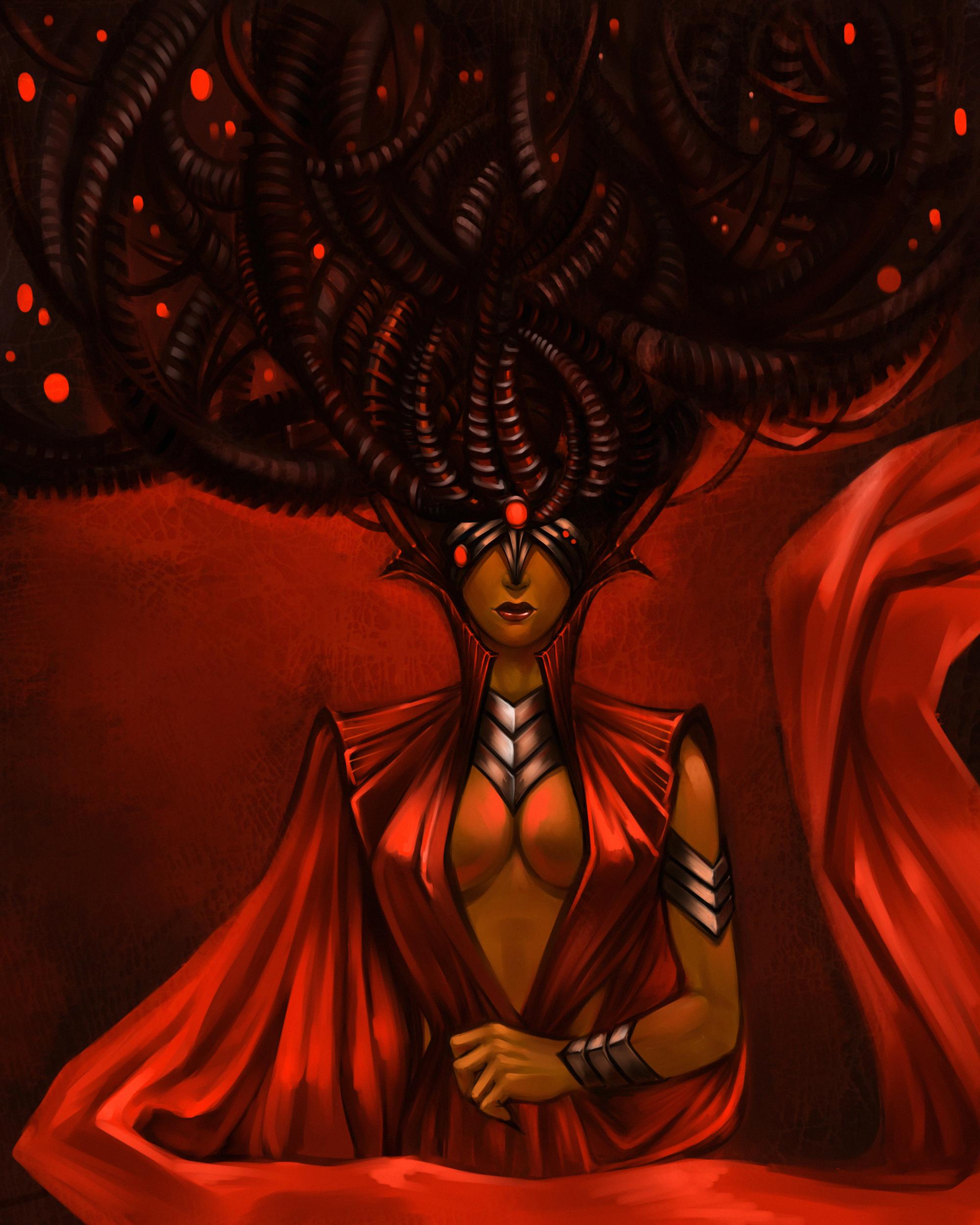 Red Witch by malkesta