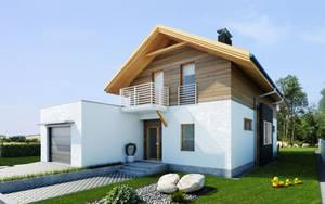 house project SAMAR exterior by Antioksidantas
