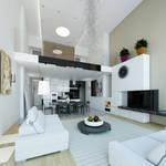 Interior eklektik+modern