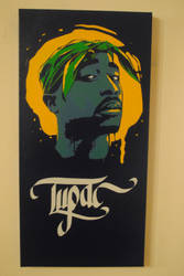 Tupac Tribute by Joshfryguy