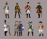 Hetalia: Historical Uniforms