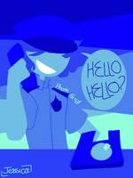 Phone guy by Jessicatwantstodie