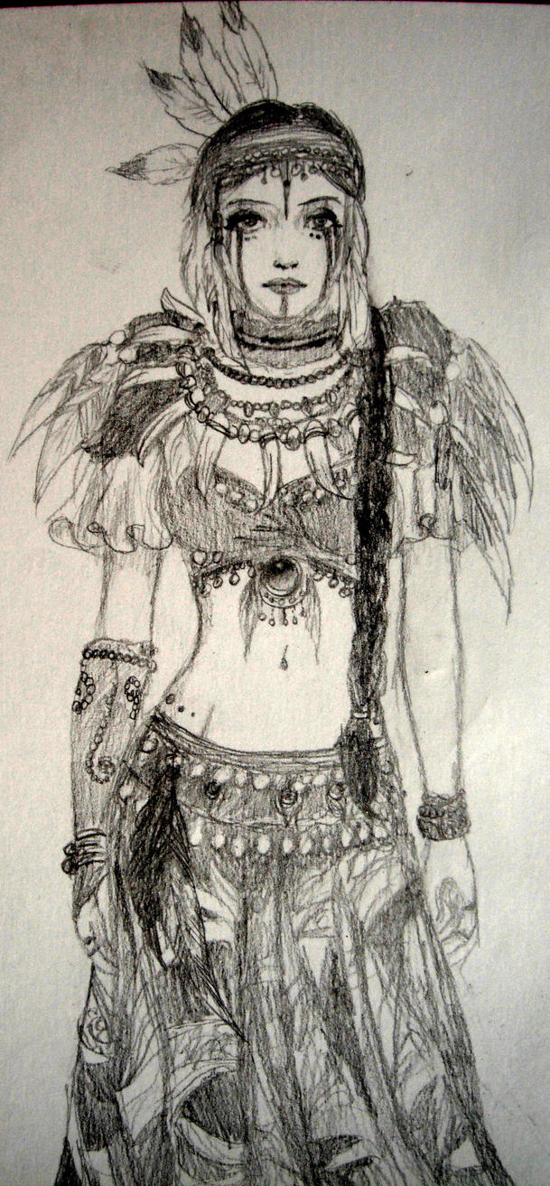 Traditional costume by EithneS