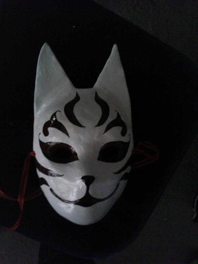 Anbu Black Ops Cat Mask