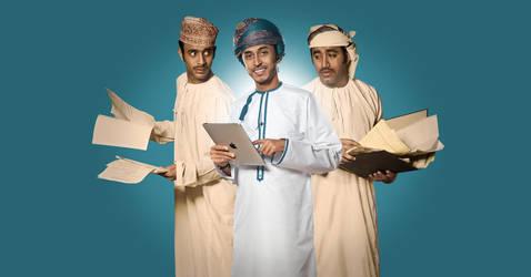 e.Oman Ad II by imadesign
