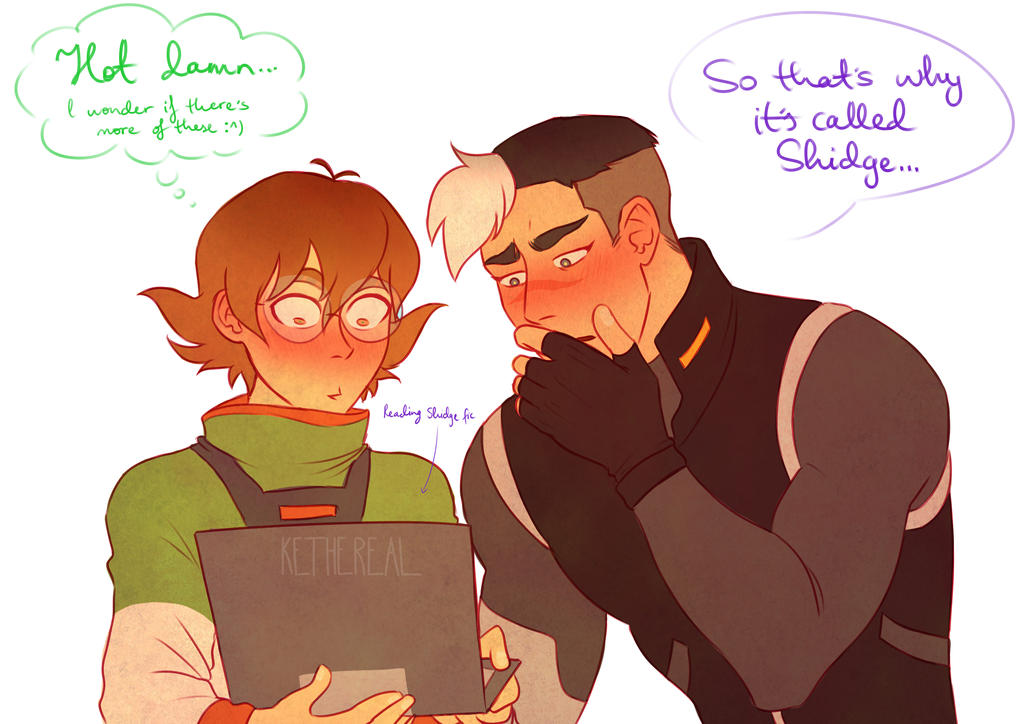 VOLTRON] Shidge - FanFiction by Kethereal on DeviantArt