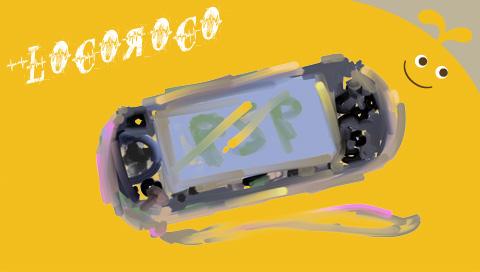 my fav game:LOCOROCO by kasracartoon