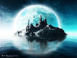 Mad Wizards Tower by stickersticker