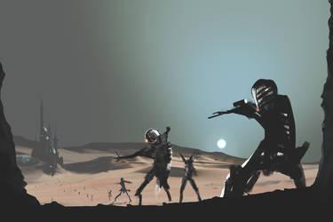 Retaking Mars