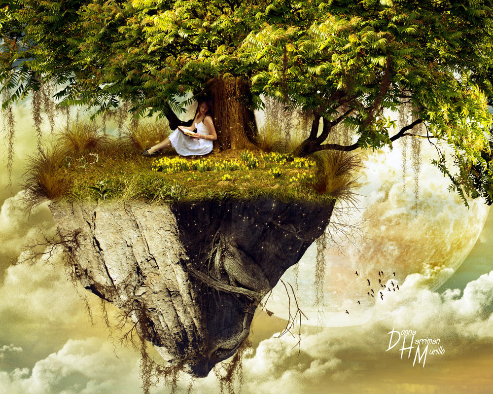 The Reading Tree by kitiekat4U on DeviantArt