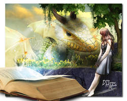 A Dragon Love Story by kitiekat4U
