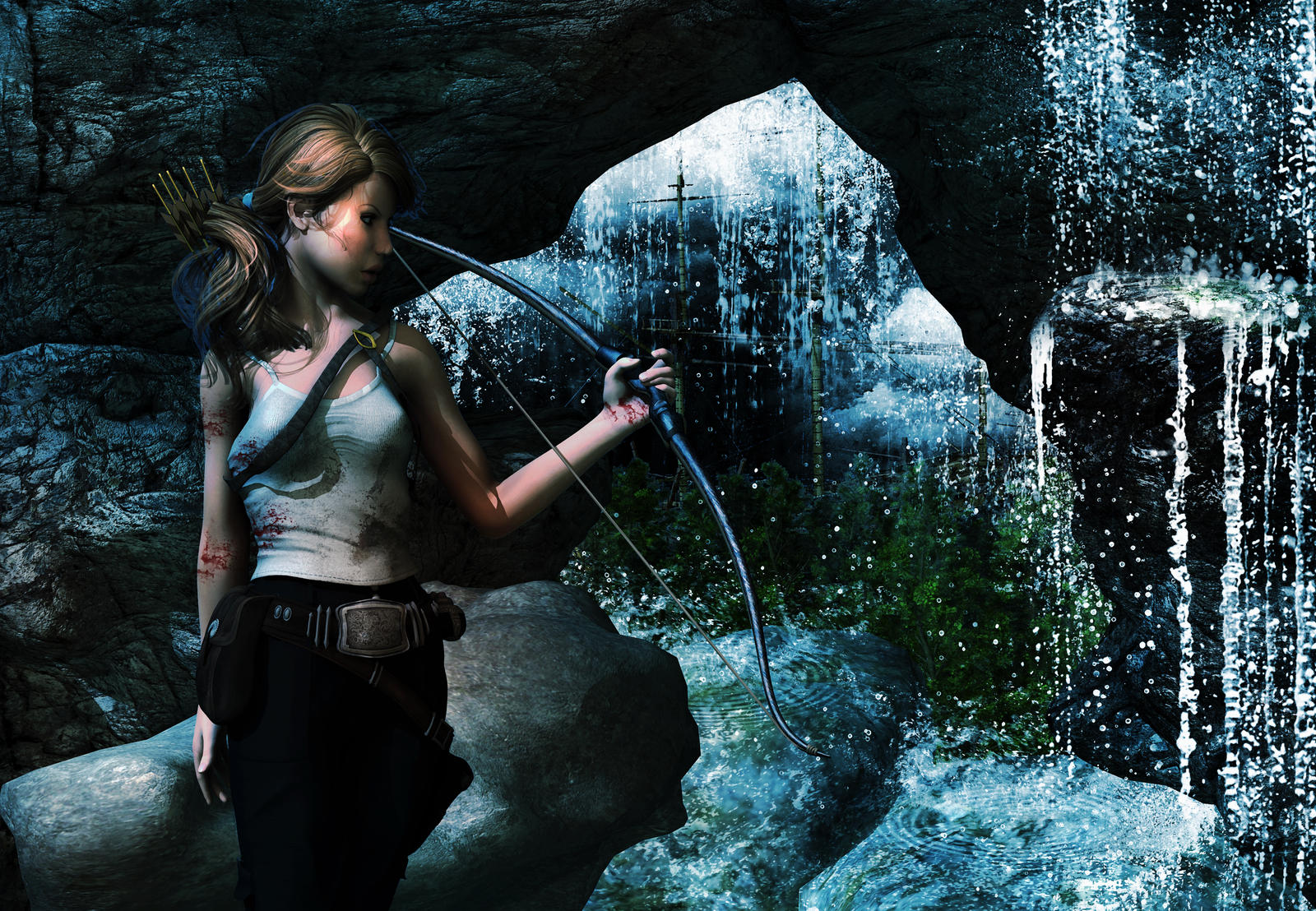 Tomb Raider Reborn by kitiekat4U