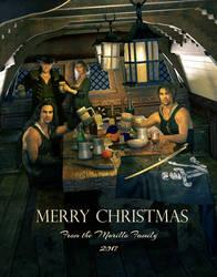 Christmas card by kitiekat4U
