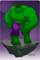 Hulk (Bruce Banner) by gnome-oo