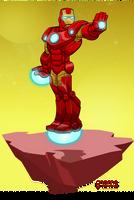 Iron Man (Tony Stark) by gnome-oo
