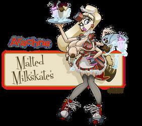 Arachne in Malted Milkshakes by gnome-oo